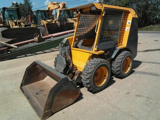 Jcb Skid Steer Loader Range 150  160  165  170  180